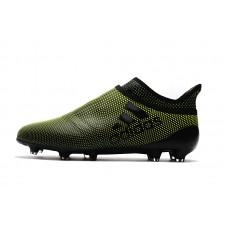 Бутсы Adidas X 17+ Purechaos Dark Green