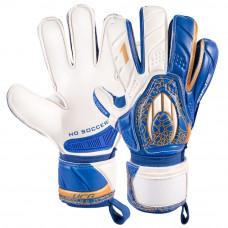Вратарские перчатки HO Soccer ONE FLAT HIGH BLUE