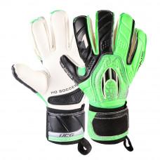 Вратарские перчатки HO SOCCER One negative storm green