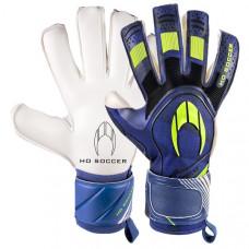 Вратарские перчатки HO Soccer SSG SUPREMO II ROLL NEGATIVE STORM BLUE